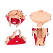 Pretty Pet сумка трансформер 3 в 1 Амстердам, цвет красный, размер S