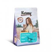 Karmy Hypoallergenic сухой корм для кошек, склонных к пищевой аллергии утка