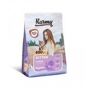 Karmy Kitten сухой корм для котят, беременных и кормящих кошек индейка