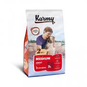Karmy Medium Adult сухой корм для собак средних пород телятина