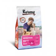 Karmy Sensitive Medium&Maxi, сухой корм для собак средних и крупных пород с чувствительным пищеварением лосось