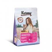 Karmy Sensitive сухой корм для кошек с чувствительным пищеварением индейка