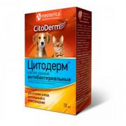 Цитодерм капли ушные антибактериальные для собак и кошек 10мл