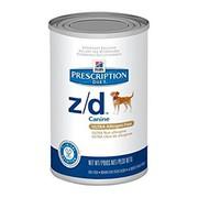 Hill's консервы для собак Z/D полноценный диетический рацион при пищевых аллергиях