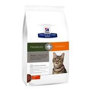 Hill's сухой корм для кошек Metabolic + Urinary полноценный диетический рацион при коррекции веса