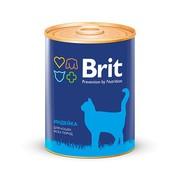 Brit консервы для кошек индейка