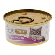 Brit Care Консервы для кошек тунец с лососем