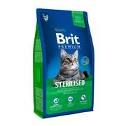Brit Premium Cat Sterilized для кастрированных котов с курицей и печенью
