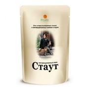 Стаут корм консервированный для стерилизованных кошек и кастрированных котов в соусе