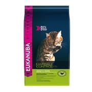 Eukanuba HAIRBALL корм для вывода шерсти из желудка с домашней птицей для кошек