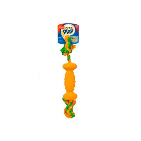 Hartz игрушка для собак - Гантель, латекс с наполнителем, большая