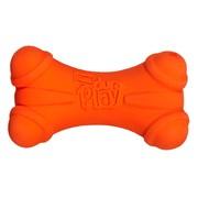 Hartz игрушка для собак - Кость трёхгранная, латекс с наполнителем, запах бекона, маленькая