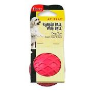 Hartz игрушка для собак - Мяч с колокольчиком, каучук