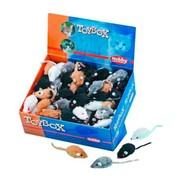 Nobby игрушка для кошек Мышка меховая дисплей 140