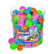 Nobby игрушка для кошек Мяч пестрый 3,5см дисплей