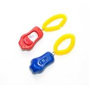 V.I.Pet Кликер трёхтоновый в форме лапки с браслетом
