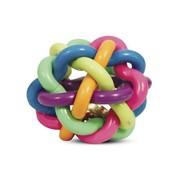 V.I.Pet мяч плетёный резиновый 38мм с колокольчиком в пакете