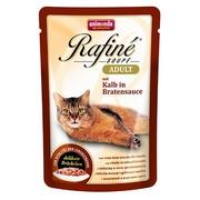 Animonda Rafine Soupe Adult паучи для кошек коктейль из телятины в жареном соусе