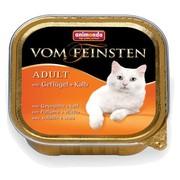 Animonda Vom Feinsten Adult консервы для кошек с домашней птицей и телятной
