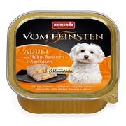 Animonda Vom Feinsten Adult меню для гурманов консервы для собак с говядиной, бананом и абрикосами