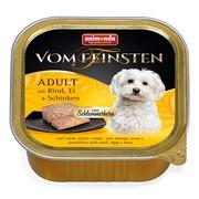 Animonda Vom Feinsten Adult меню для гурманов консервы для собак с говядиной, яйцом и ветчиной