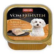 Animonda Vom Feinsten Adult меню для гурманов консервы для собак с курицей, йогуртом и овсяными хлопьями