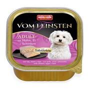Animonda Vom Feinsten Adult меню для гурманов консервы для собак с курицей, яйцом и ветчиной