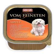 Animonda Vom Feinsten Forest консервы для собак с мясом домашней птицы и телятиной