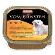 Animonda Vom Feinsten Junior консервы для щенков с мясом домашней птицы и сердцем индейки