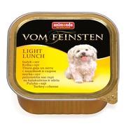 Animonda Vom Feinsten Light Lunch консервы для собак облегченное меню с индейкой и сыром