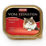 Animonda Vom Feinsten Senior консервы для кошек старше 7 лет с говядиной