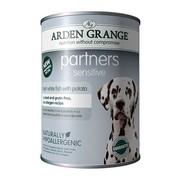 Arden Grange консервы для собак рыба/картофель