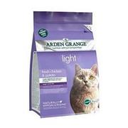Arden Grange корм сухой беззерновой для взрослых кошек диетический курица/картофель