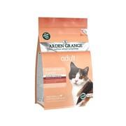 Arden Grange корм сухой беззерновой для взрослых кошек лосось/картофель