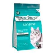 Arden Grange корм сухой беззерновой для взрослых кошек с чувствительным желудком