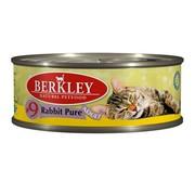 Berkly-Cat консервы для кошек мясо кролика №9