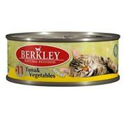 Berkly-Cat консервы для кошек тунец с овощами №11