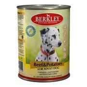 Berkly-Dog консервы для собак говядина с картофелем