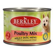 Berkly-Dog консервы для собак рагу из домашней птицы №9