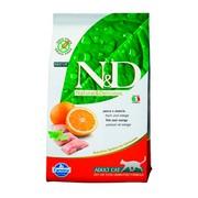 Farmina N&D беззерновой корм для кошек рыба с апельсином