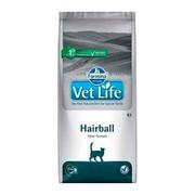 Farmina Vet Life Hairball корм для кошек снижает образование и способствует выведению шерстяных комочков из ЖКТ
