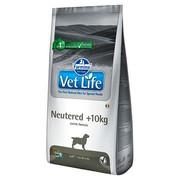Farmina Vet Life Neutered диета для кастрированных или стерилизованных собак массой от 12 кг профилактика МКБ