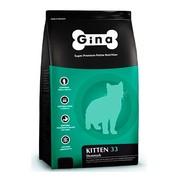 Gina Denmark Kitten-33 корм сухой для котят беременных и кормящих кошек