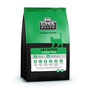 Gina Elite Cat Grain Free корм беззерновой сухой для активных кошек