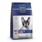 Gina Elite GF Cat Salmon корм беззерновой сухой для взрослых кошек лосось