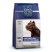 Gina Elite GF Large Dog корм беззерновой сухой для собак крупных пород с индейкой, картофелем и клюквой