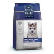 Gina Elite Large Puppy Salmon&Potato корм сухой для щенков крупных пород лосось/батат
