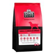 Gina Elite Small Dog корм сухой для собак мелких пород и средних пород до 7 лет
