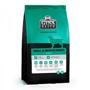 Gina Elite Small Puppy корм сухой для щенков, беременных и кормящих собак мелких и средних пород