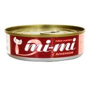 Mi-Mi консервы для кошек и котят ягненок в желе